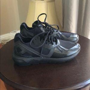 Black Adidas tubular X